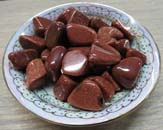 Tumbled Stone (Red Goldstone)