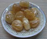 Tumbled Stone (Honey Calcite)