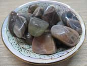 Tumbled Stone (Black Moonstone) 1 LB Bag