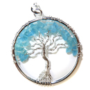 Tree of Life Pendant (Apatite)