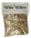 Bagged Botanicals (White Willow: Bark, Cut)