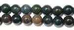 Gemstone Bead Strand (Bloodstone/8MM)
