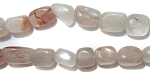 Gemstone Bead Strand (Hematoid Quartz/8-12MM)
