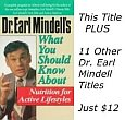 12 Book Kit of Dr. Earl Mindell Health & Nutrition Books