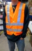 Orange Safety Reflective Vest