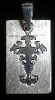 Cross # 1 - Laser Cut Stainless Steel Pendant