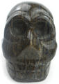 Skull Bead (Large  Brown Agate)