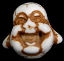 Happy Buddha Bead (Cream/Natural)
