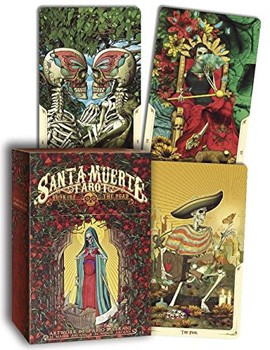 Santa Muerte Tarot Deck: Book of the Dead [Cards]