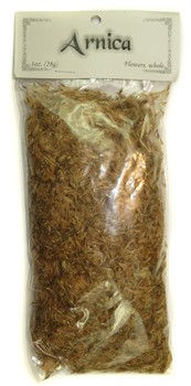 Bagged Botanicals (Arnica: Whole, Flowers )