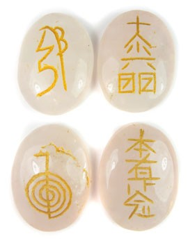 Usui Reiki Set (Rose Quartz)