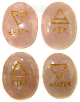 Four Element Set (Rose Quartz)
