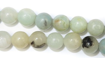 Gemstone Bead Strand (Amazonite/8MM)