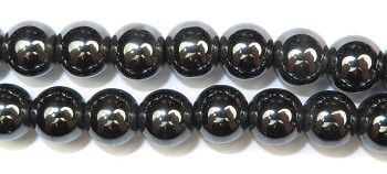 Gemstone Bead Strand (Hematite/8MM)