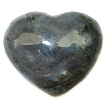 Gemstone Heart (Labradorite)
