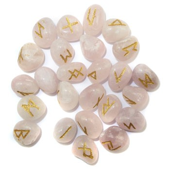 Pocket Runes (Rose Quartz)