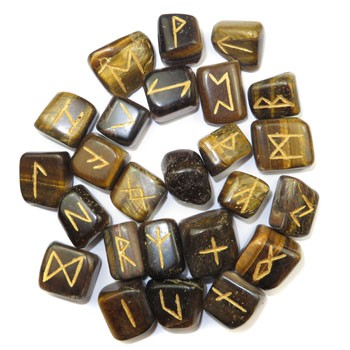 Pocket Runes (Tiger Eye)