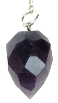 Multi-Faceted Amethyst Pendulum