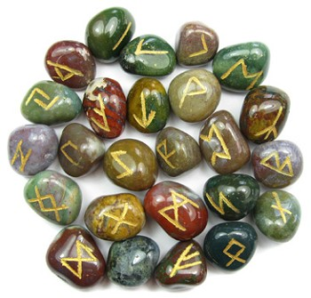 Runestone Set (Fancy Jasper)