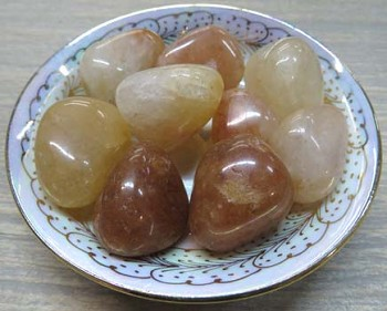 Tumbled Stone (Natural Topaz)