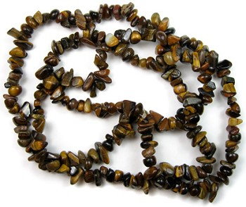 Chip Beads (Tiger Eye)