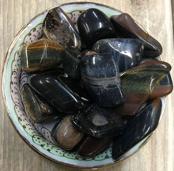 Tumbled Stone (Blue Tiger Eye)