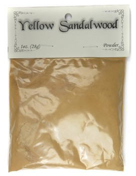 Bagged Botanicals (Yellow Sandalwood: Powder)